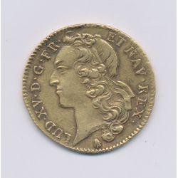 Louis XV - Double louis d'or au bandeau - 1748 Q Perpignan
