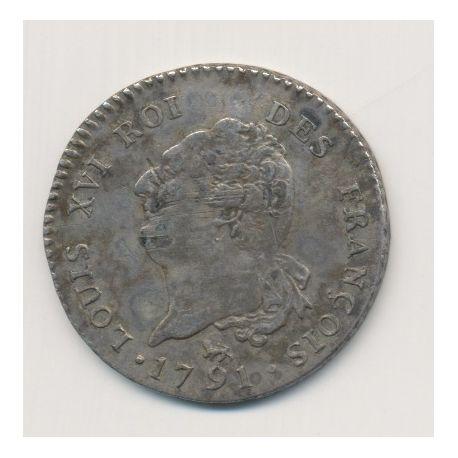 Louis XVI - 30 Sols - 1791 A Paris