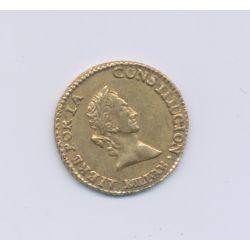 Bolivie - 1/2 Scudo Or - 1844