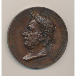 Médaille - Audry de Puyraveau - Procès d'avril 1835 - bronze