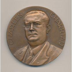 Médaille - Charles Charriau - La Rochelle - bronze