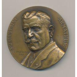Médaille - Armateur Castaing - Société chalutiers La Rochelle - bronze