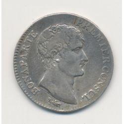 Bonaparte 1er consul - 1 Franc - AN 12 Q Perpignan