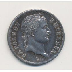 Napoléon empereur - 1 Franc - 1808 A Paris