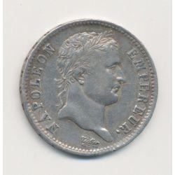 Napoléon empereur - 1 Franc - 1808 H La Rochelle
