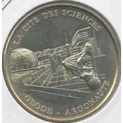 Dept7519 - Cité des sciences - géode - argonaute - 1998 - Paris