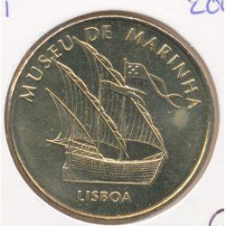Portugal - Musée de la marine - caravelle - 2007 - Lisbonne