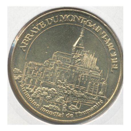 Dept50 - Mont st michel N°4 - 2008 - Patrimoine mondial de l'humanité - abbaye