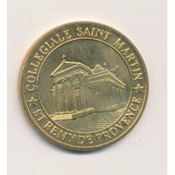 Dept13 - Collegiale Saint remy de provence - Médailles et Patrimoine