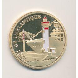 Dept44 - Port de l'Atlantique - St nazaire - Souvenirs et patrimoine - 34mm - colorisé