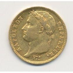 Napoléon empereur - 20 Francs Or - 1809 W Lille