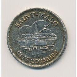 Médaille - Cité corsaire - St Malo - France