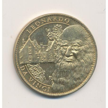 Médaille - Leonardo da vinci - Clos lucé