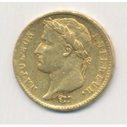 Napoléon empereur - 20 Francs Or - 1810 W Lille