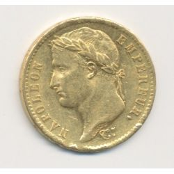 Napoléon empereur - 20 Francs Or - 1812 A Paris