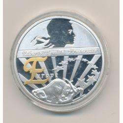 Médaille - Europe - Les symboles de la république française - 40mm - cupronickel