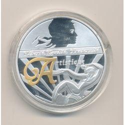 Médaille - Artistique - Les symboles de la république française - 40mm - cupronickel