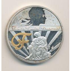 Médaille - Fraternité - Les symboles de la république française - 40mm - cupronickel