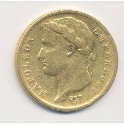 Napoléon empereur - 20 Francs Or - 1813 Q Perpignan