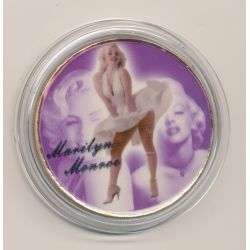 Médaille - Marilyn Monroe - 40mm