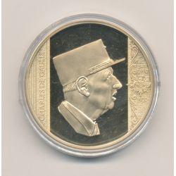 Médaille - Charles De Gaulle - Collection les plus grands Français