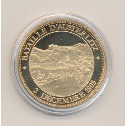Médaille - Bataille d'Austerlitz - 2 décembre 1805 - Collection Napoléon Bonaparte