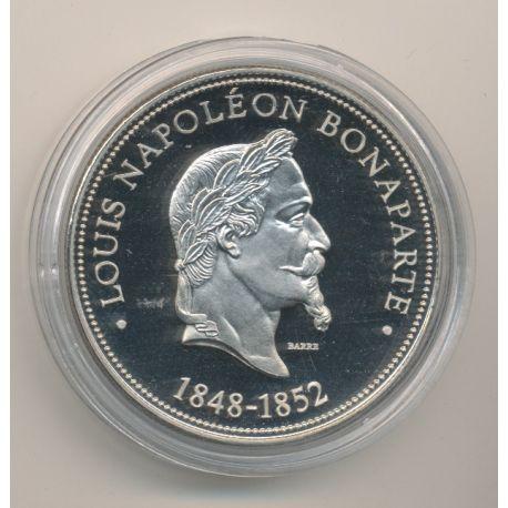 Médaille - Louis Napoléon Bonaparte - Président de la République