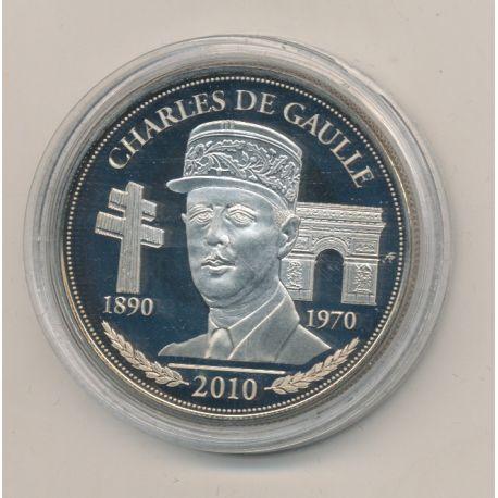 Médaille - Charles De Gaulle - Président de la République