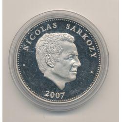 Médaille - Nicolas Sarkozy - Président de la République - 41mm