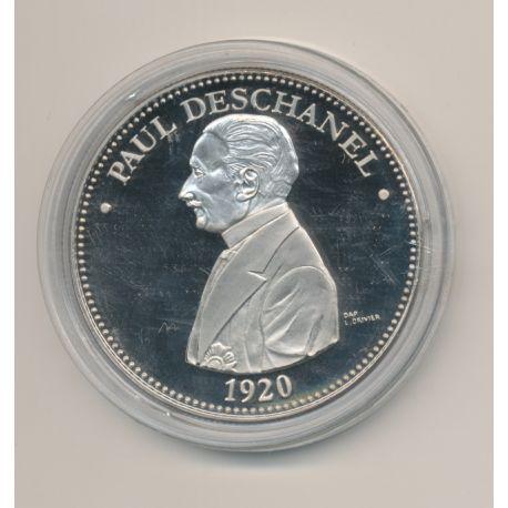 Médaille - Paul Deschanel - Président de la République - 41mm