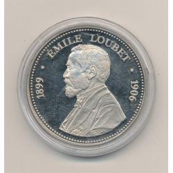 Médaille - Emile Loubet - Président de la République - 41mm