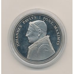 Médaille - Jean Paul I - Médaille des papes - MCMLXXVIII