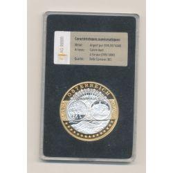 Médaille - 1ère frappe hommage Euro - Autriche - Europa - argent