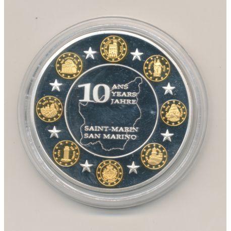 Médaille -Saint Marin - 10 ans