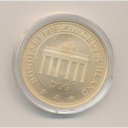 Médaille - Bundesrepublik Deutschland - cuivre doré - 40mm