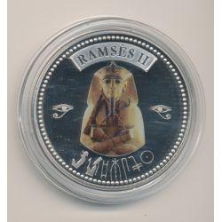 Médaille - Ramses II - Tresor d'Égypte