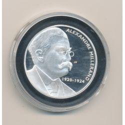Médaille - Alexandre Millerand - Les Présidents de la république