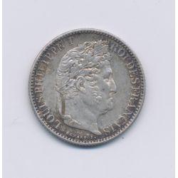 50 centimes Louis Philippe I - 1847 A Paris - SUP