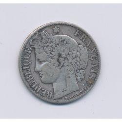 50 centimes Cérès - 1871 K Bordeaux - TB+