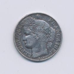 50 centimes Cérès - 1881 A Paris - TB