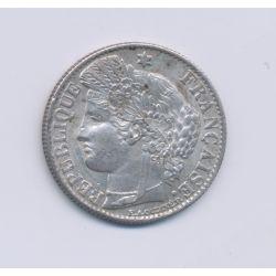 50 centimes Cérès - 1888 A Paris - SUP+