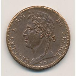Charles X - 10 Centimes - 1828 A Paris