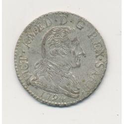 Italie - 20 Soldi - 1794 Turin - Piémont - Victor Amédée III - billon