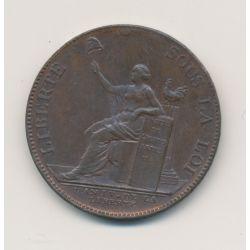 Monneron 2 Sols à la liberté assise - 1792 - SUP+