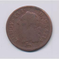 Louis XVI - Sol - 1783 R Orléans - TB