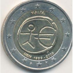 2€ Malte 2009 - 10 ans de l'euro