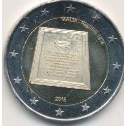 2€ Malte 2015 - République 1974