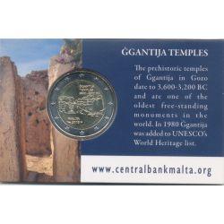 2€ Malte 2016 - Temple Ggantija - coincard