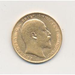 Souverain Or - Edward VII - Spécial Investissement