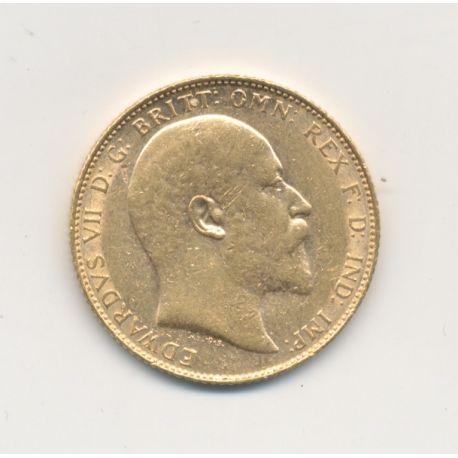 Souverain Or - 1908 - Edward VII